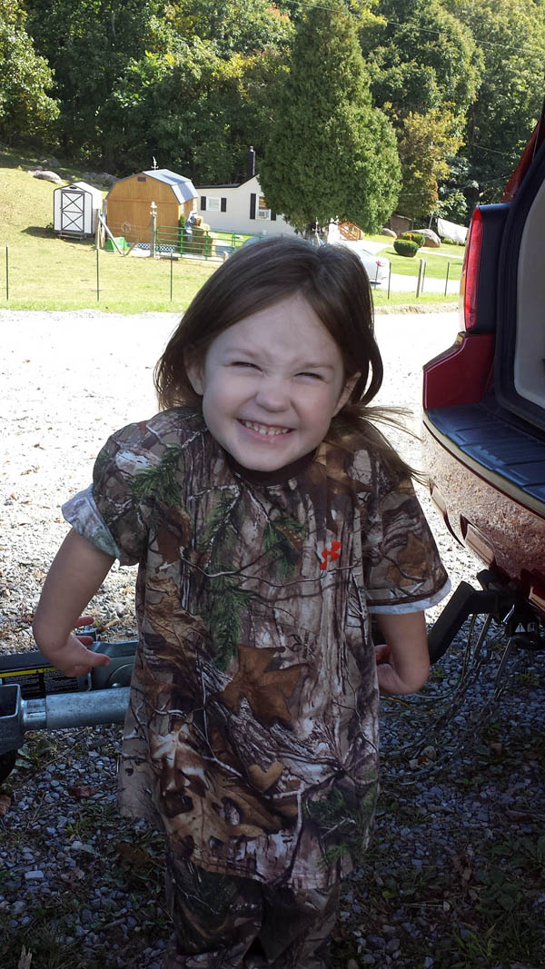 Teach Them Young Happy Girl