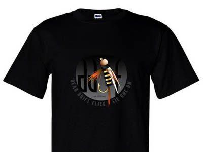 DDF Logo Men's Black Tee