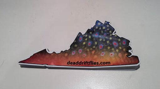 DDF Virginia Sticker